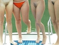 sultry young nudists dreamed about sex at the beach resort