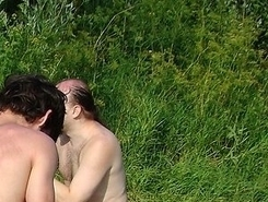 Nude Beach. Couples getting down and dirty